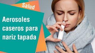 Aerosoles para nariz congestionada | Salud