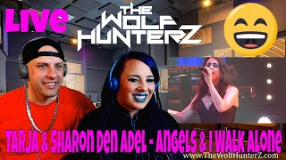 Tarja & Sharon Den Adel - Angels & I Walk Alone (acoustic) - Metalfest | THE WOLF HUNTERZ Reactions