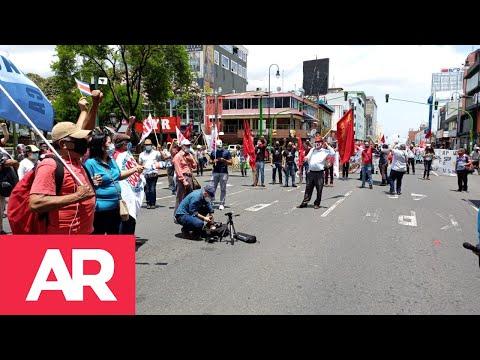 Organizaciones de trabajadores salen a las calles el 1 de mayo