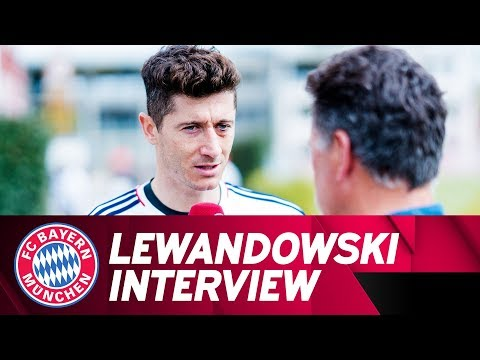 """""""Real might have problems""""   Lewandowski Interview prior to Madrid   #FCBRMA"""