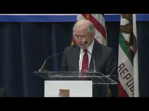 connectYoutube - Attorney General Jeff Sessions message to Oakland Mayor Schaaf