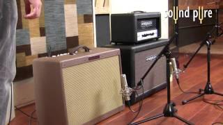 Millennia TD-1 DI Reamping Electric Guitars (Part 1)