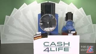 Sorteo del 27 de Marzo del 2020 (Cash4Life, Cash 4 Life, Cash Four Life, CashFourLife)