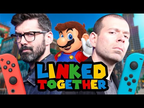 connectYoutube - Super Mario Odyssey's New Donk City Firework Festival - Linked Together Episode 7