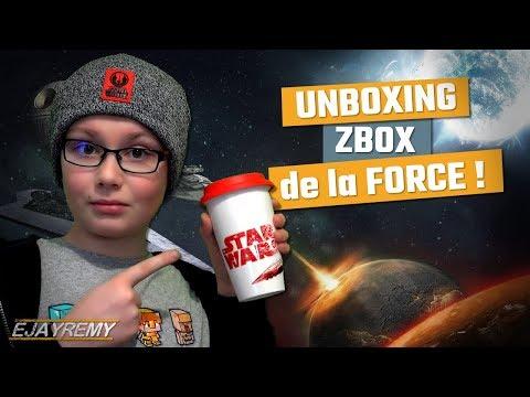 LA FORCE DE STAR WARS ! Unboxing Zbox GALAXY