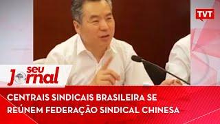 Centrais sindicais brasileira se reúnem federação sindical chinesa por insumos no combate à covid-19