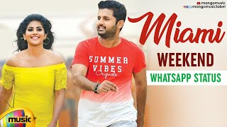 Miami Song | Weekend Party WhatsApp Status | Chal Mohan Ranga Movie | Nithiin | Megha Akash | Thaman - MANGOMUSIC