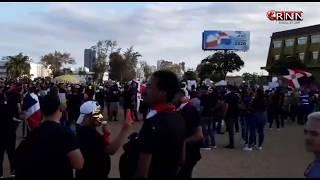 Por séptimo día consecutivo cientos de jóvenes protestan contra JCE