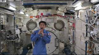 Space Station Crewmember Discusses Life in Space with Japanese Students