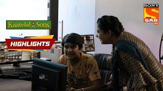 Mummy Caught Puttu Checking CCTV Footage | Kaatelal backslashu0026 Sons | Episode 139 | Highlights - SABTV