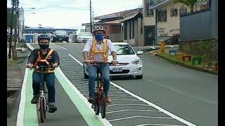 Inauguran la ciclovía de San Pedro