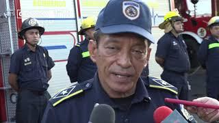 Parten camiones contra incendios para nueva estación de bomberos en Tisma - Nicaragua