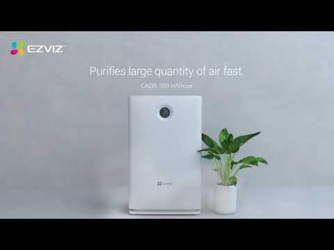 Ezviz Air Purifier |  Breathe Cleaner, Healthier Air