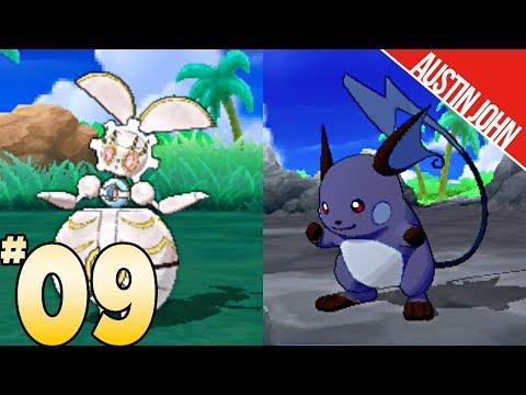 Shadow Kantonian Raichu, Magearna, Grass Trial & More! Pokemon ultraLOCKE EP9 | Austin John Plays