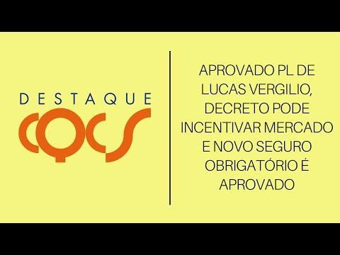 Imagem post: Aprovado PL de Lucas Vergilio, Decreto pode incentivar mercado e novo Seguro obrigatório é aprovado