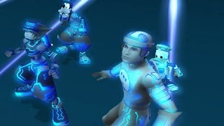 Kingdom Hearts 2 HD Final Mix MOVIE (Disney's TRON) 60FPS 1080P