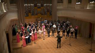 Mendelssohn: Mitten wir im Leben sind - World Youth Choir, conducted by Zoltán Pad