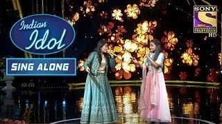 Sayali और Anjali का 'Navrai Maaji' पे एक ज़बरदस्त जुगलबंदी | Indian Idol | Sing Along - SETINDIA