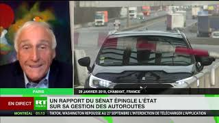 Autoroute: «Pour le Sénat, ni l'Etat, ni les automobilistes ne doivent payer le coût du confinement»