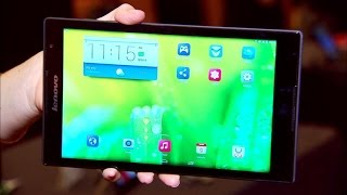 Featherlight Lenovo Tab S8 weighs about half a pound