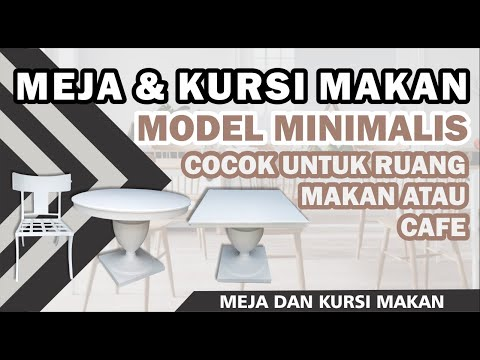 Meja Bulat Furniture Minimalis