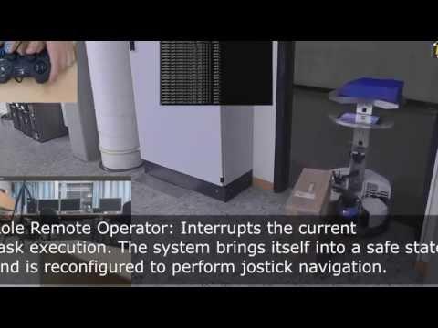 Robotino®3 Real World Transportation Scenario