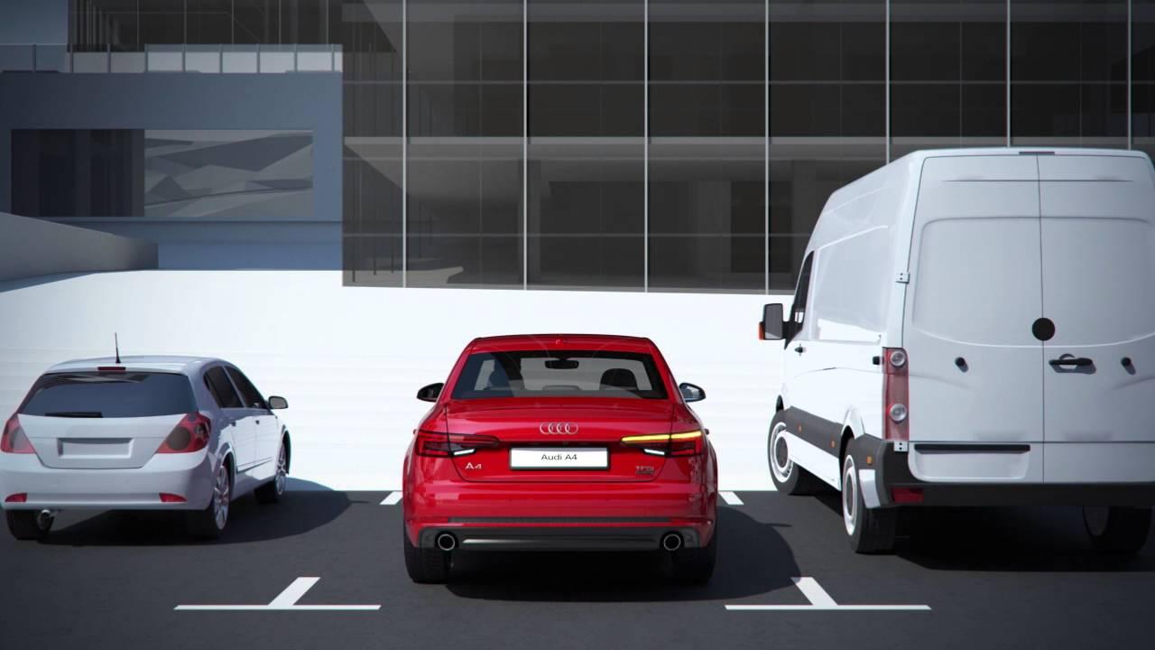 The all-new Audi A4: rear cross traffic assist