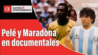 Pelé y Maradona: dos genios del fútbol retratados en documentales