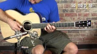 Santa Cruz OMS Guitar Demo at Sound Pure
