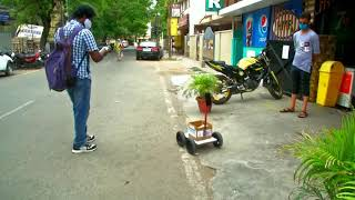 24 May, 2020 - Indian engineer develops robot to run errands during virus lockdown - ANIINDIAFILE