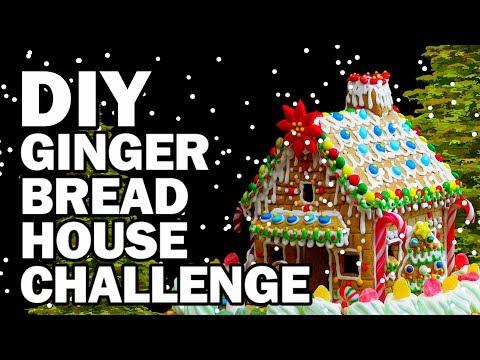 connectYoutube - DIY Gingerbread Challenge!!! - Man Vs Corinne Vs Pin