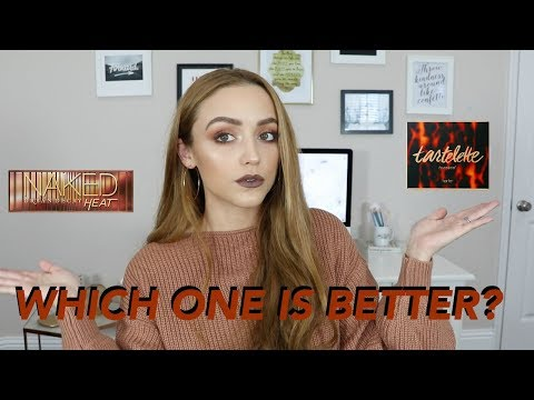 UD Naked Heat VS. Tarte Toasted Palette | Swatches & Comparisons