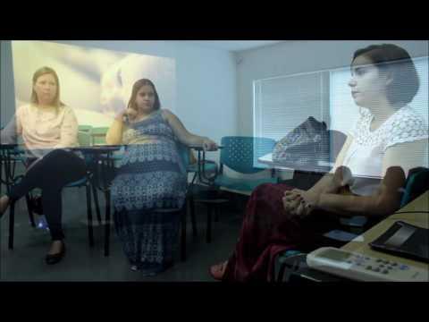 Encontro de grávidas do Projeto Amor de Mãe Muda o Mundo