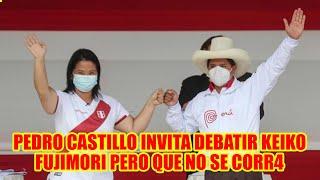 PEDRO CASTILLO DIO CONFERENCIA DE PRENSA  EN IQUITOS DONDE LE DIJO KEIKO QUE DE C4RA A LA JUSTICI4