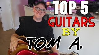 Tim Pierce's Top 5 Guitars by Tom Anderson