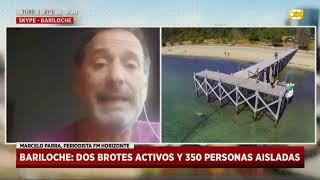 Coronavirus en Bariloche: dos brotes activos y 350 personas aisladas en Hoy Nos Toca a las Diez