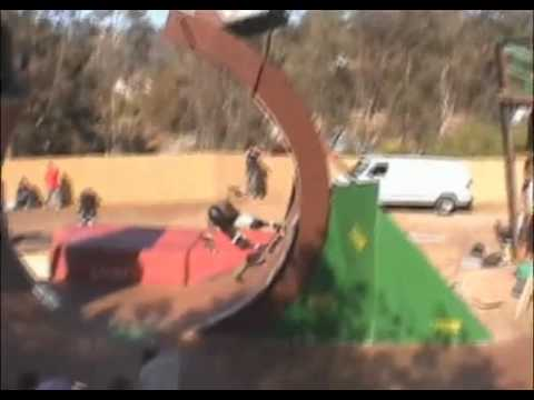 Bob Burnquist's gapped loop