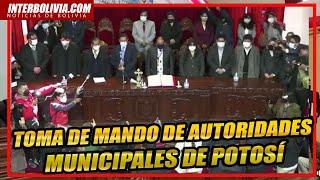 ???? Posesión del Autoridades Municipales Electo de Potosí Sr. Jhonny Llally Huata