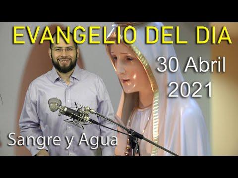 Evangelio Del Dia de Hoy - Viernes 30 Abril 2021-Si Creen En Dios Crean Tambien en Mi -Sangre y Agua