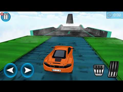 connectYoutube - Extreme Tracks Racing Stunts Ultimate Flying Cars / Sports Car Racer / Android Gameplay