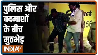 Noida में पुलिस और बदमाशों के बीच मुठभेड़, गोली लगने से 2 बदमाश घायल - INDIATV