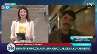 Coronavirus: España empezó la salida gradual de la cuarentena