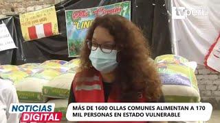 Pachacamac: Midis realiza donación de 15 toneladas de alimentos a ollas comunes