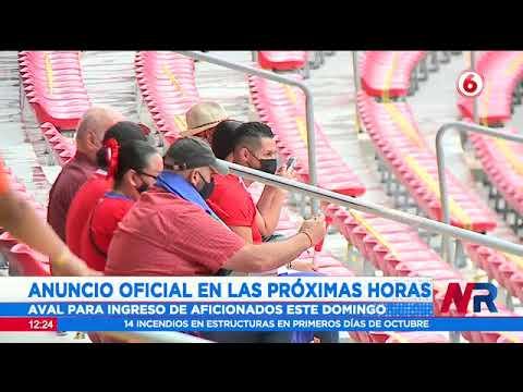 5.000 personas vacunadas podrán alentar a La Sele en  el Estadio Nacional el próximo domingo