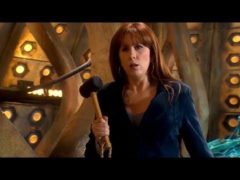 Donna Noble Vs a Sontaran - The Poison Sky - Doctor Who - BBC