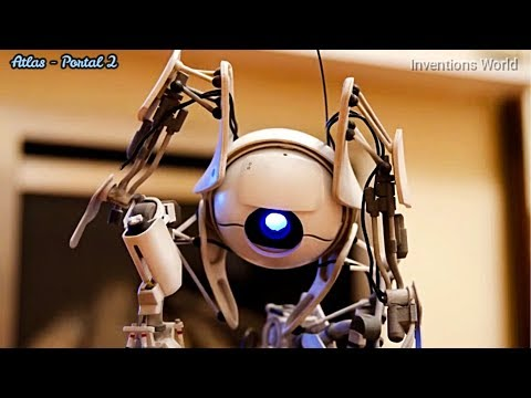 Atlas Robotic Toy From Portal 2 Video Gaming Developed By Valve Corporation, Still Available.