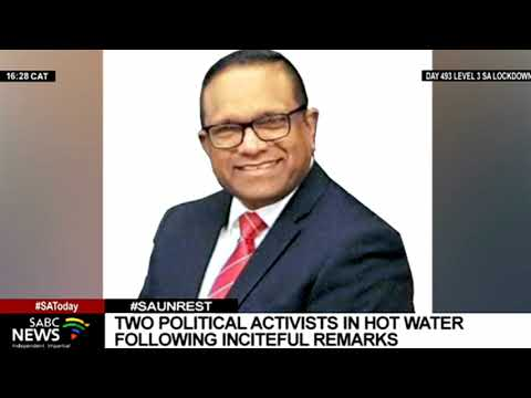 Two political activists in hot water following inflammatory remarks over Phoenix killings