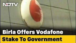 Vodafone Loses 2,700 Crore In Market Cap After Kumar Mangalam Birla Letter - NDTV
