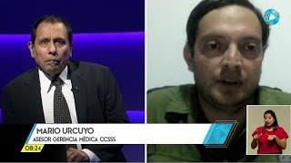 COVID19 satura servicios hospitalarios de Costa Rica al colapso por primera vez en la historia CCSS