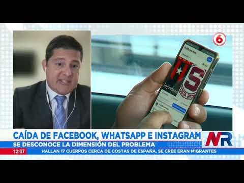 Caída de Facebook, WhatsApp e Instagram